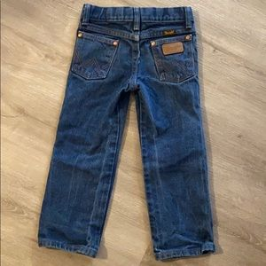 Wrangler jeans- classic thick - toddler size 4T